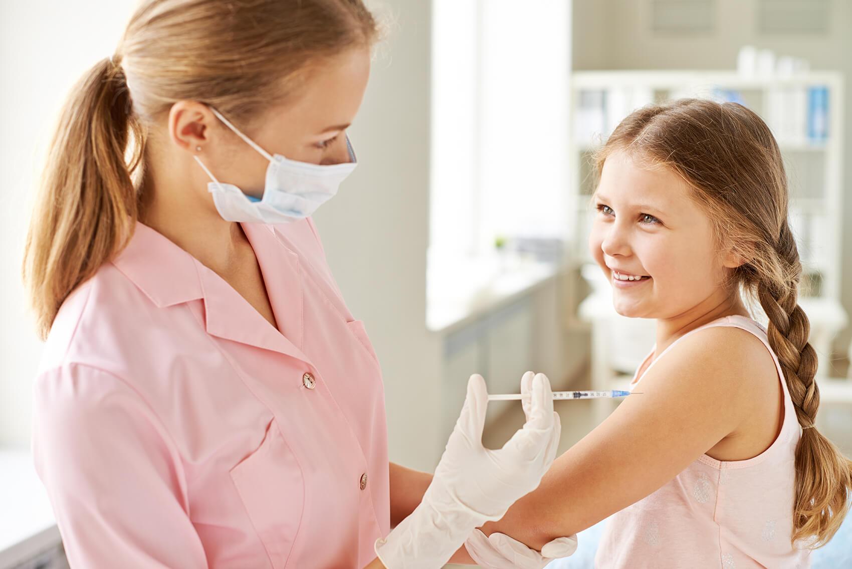 Cepljenje otrok