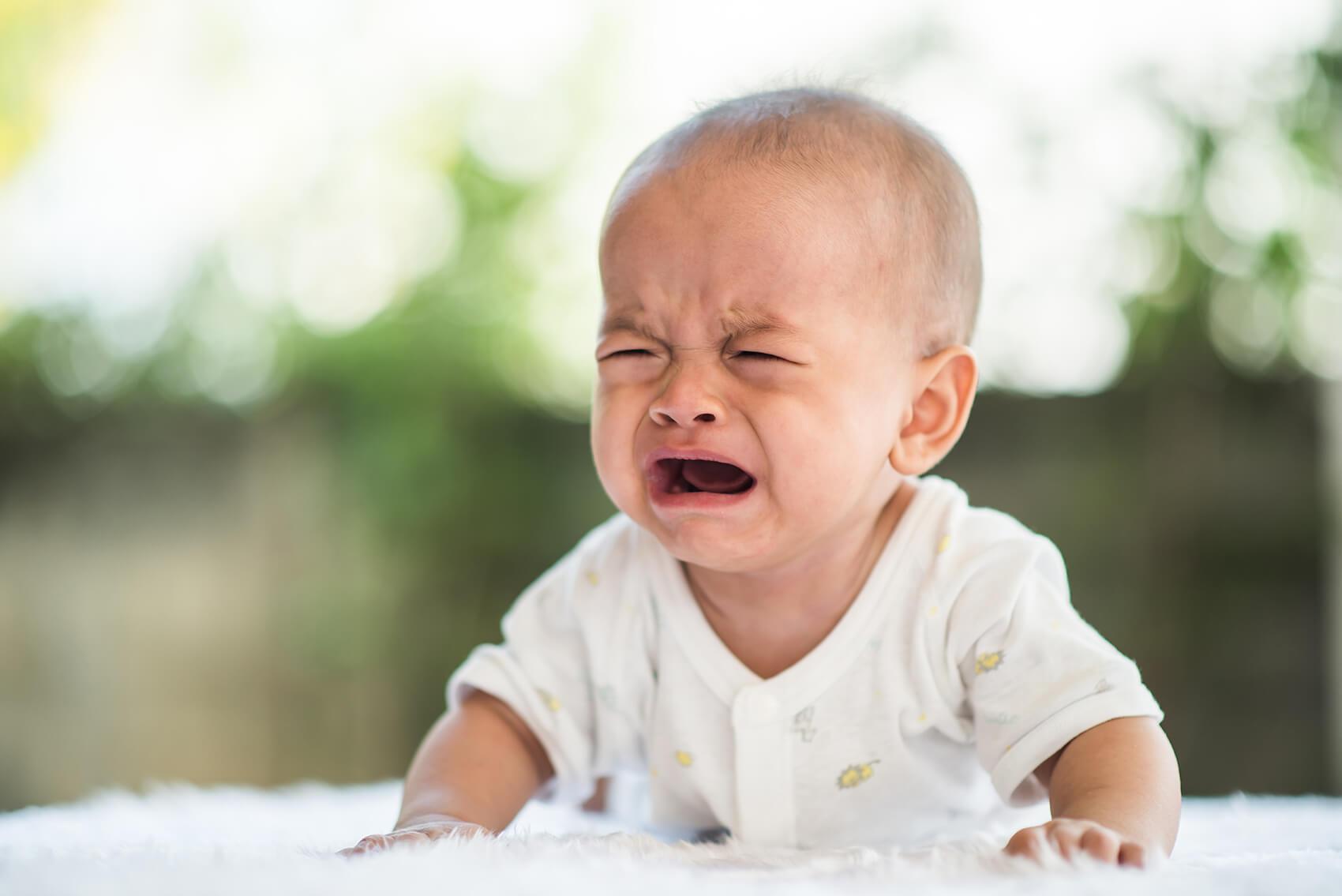 Ko dojenček joka