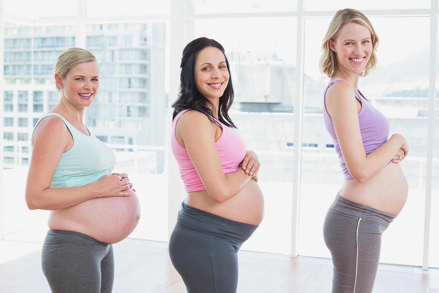 Pridobivanje telesne teže v nosečnosti