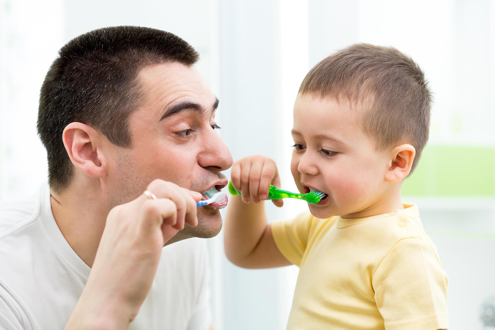 Skrb za ustno zdravje otroka