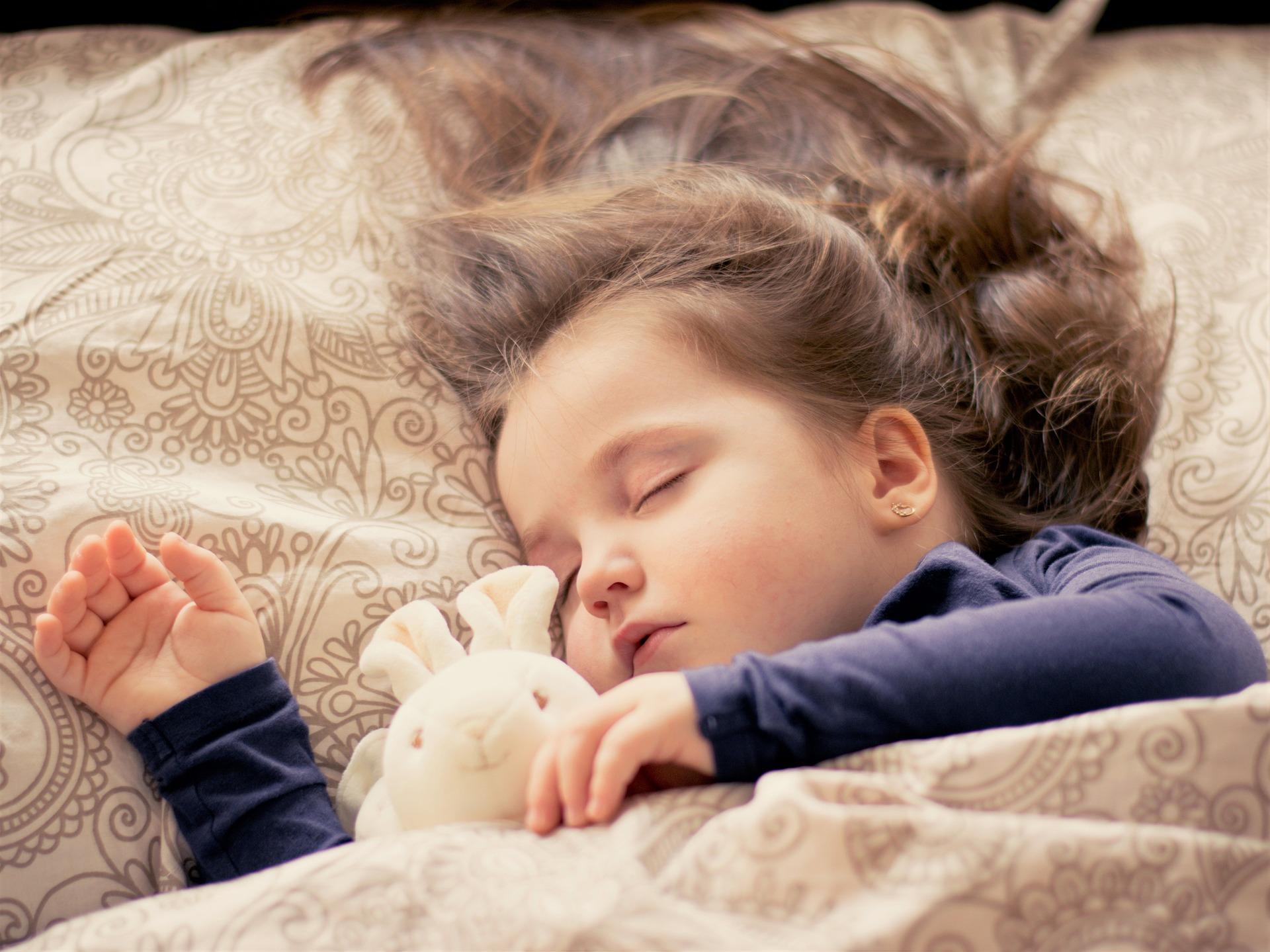 Pomen spanja pri otrocih
