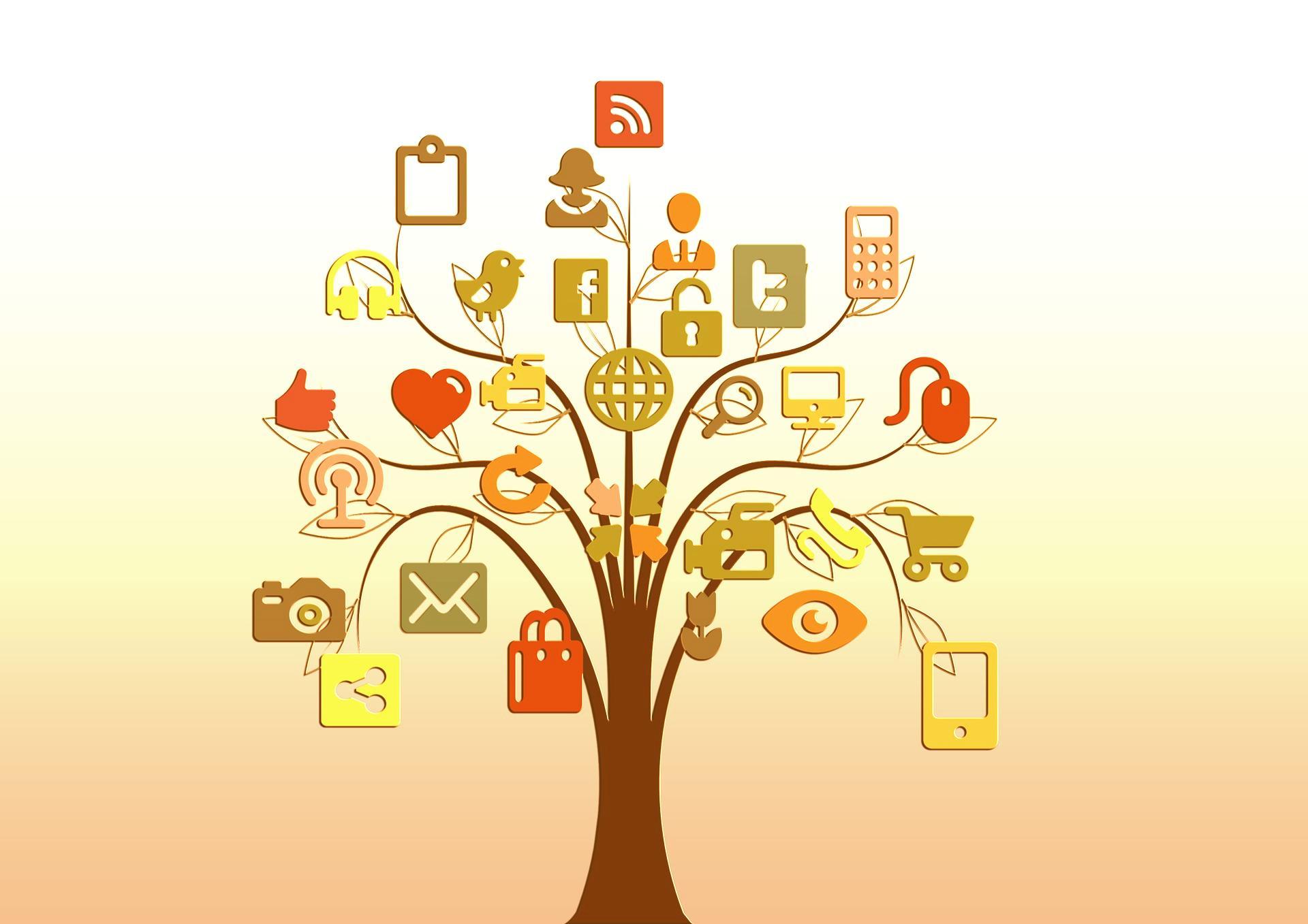 Prisotnost Zbornice kliničnih psihologov na družbenih omrežjih