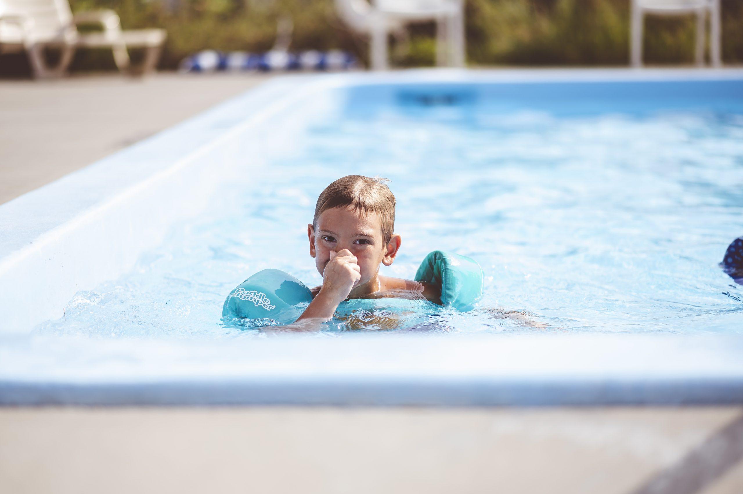 Domači bazeni in varnost otrok